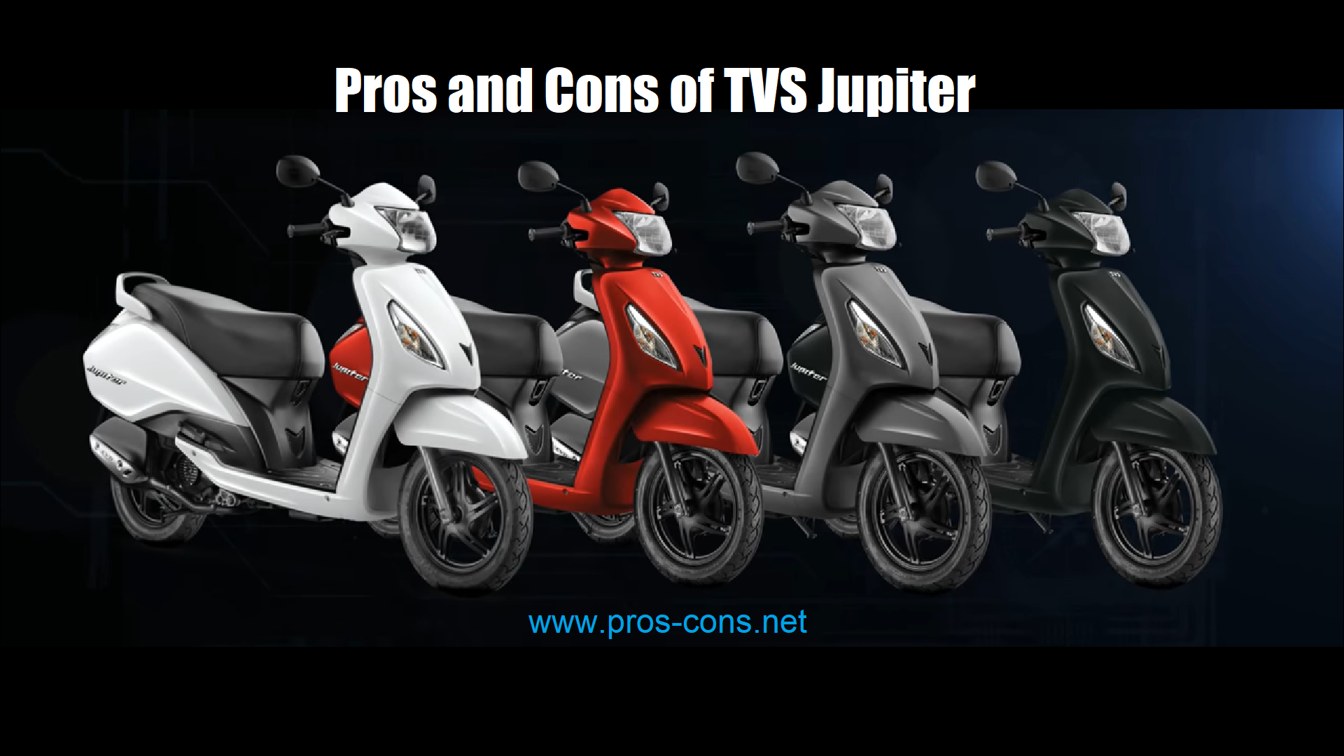 pros and cons of TVS Jupiter